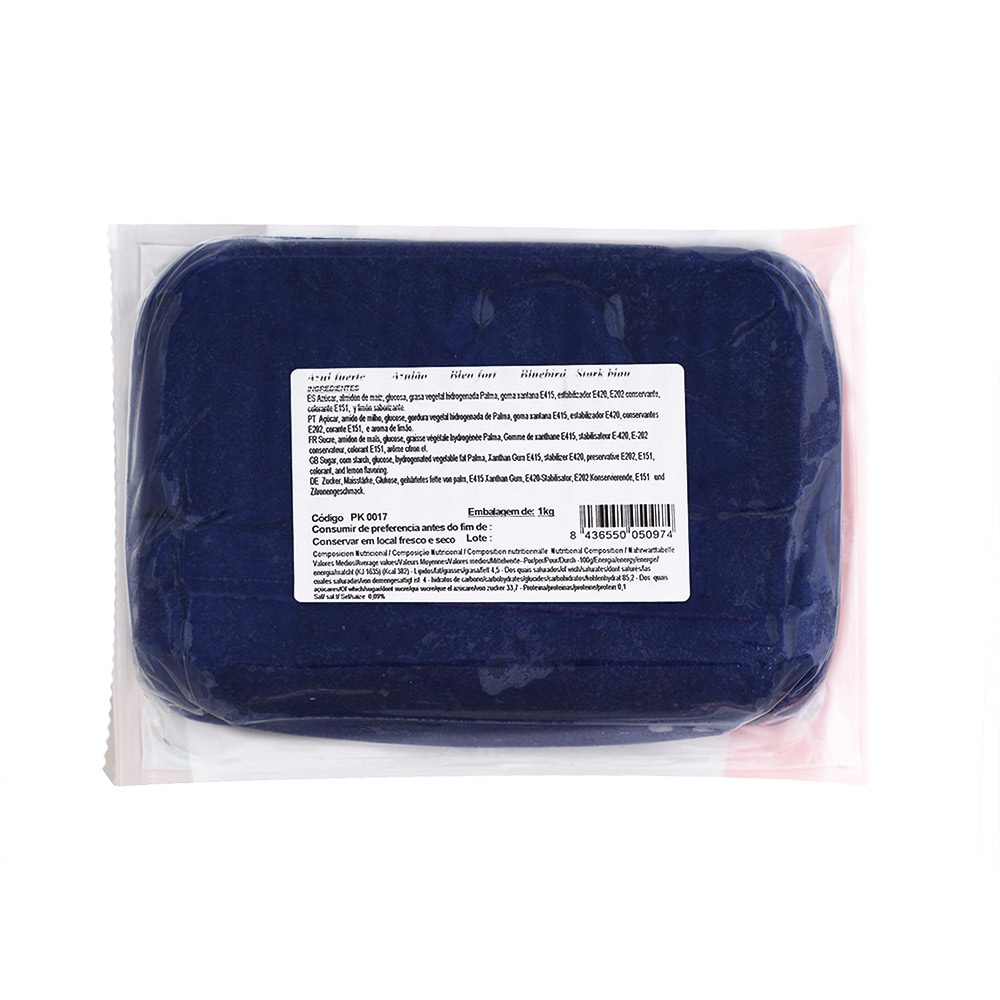 Fondant PastKolor Azul Marino 1 Kg - My Karamelli