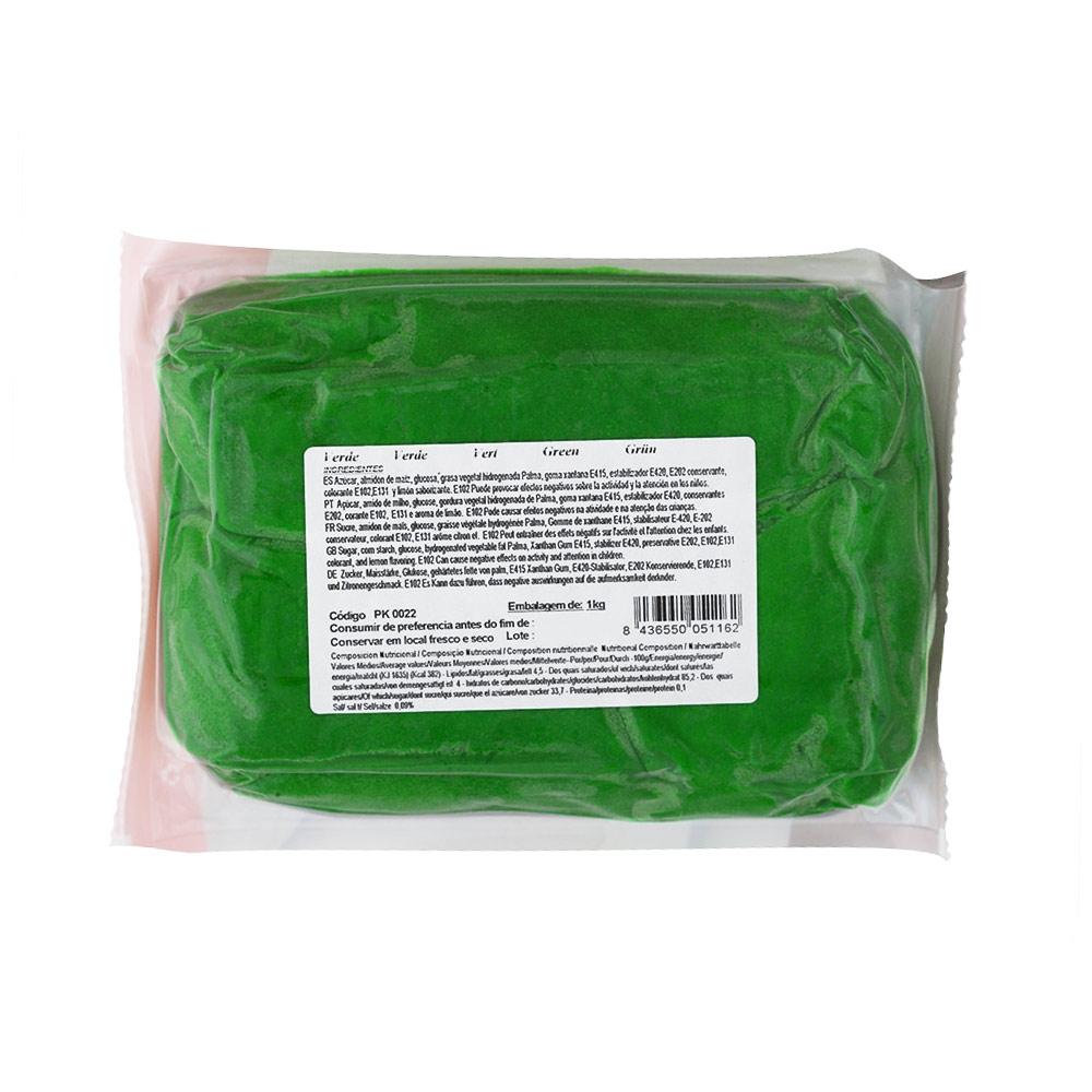 Fondant PastKolor Verde 1 Kg - My Karamelli