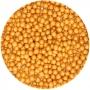 Perlas blandas color dorado nacaradas de 60 gramos