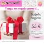 Tarjeta regalo 55 €