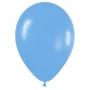 Pack de 10 globos de látex azul mate
