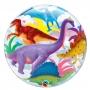 Globo Burbuja 2 Caras Dinosaurios 56 cm