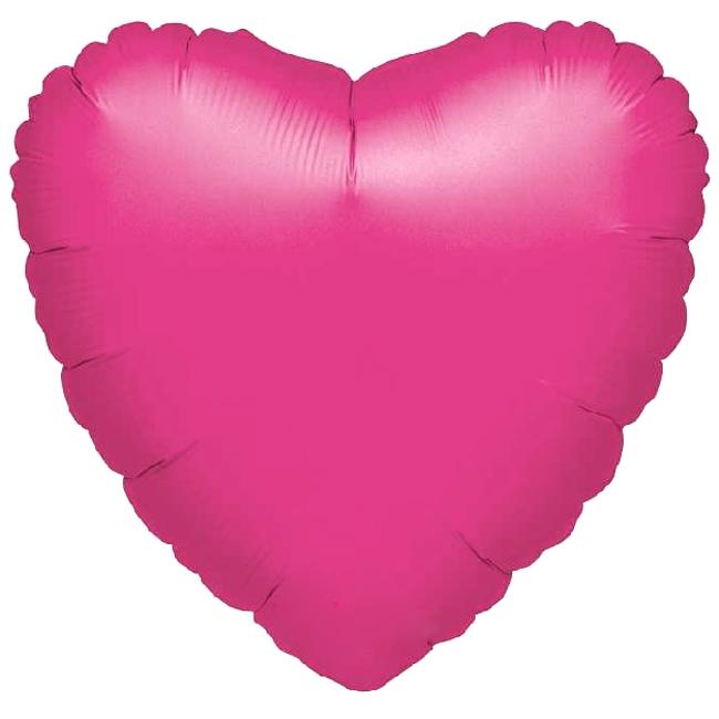 Globo Corazón Rosa 45 cm