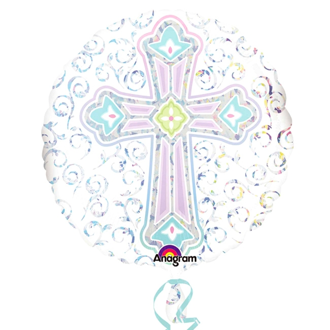 Globo Cruz Brillante 45 cm