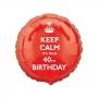 Globo de Foil 40 Años Keep Calm