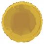 Globo de Foil Redondo Dorado 45 cm