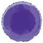Globo de Foil redondo Violeta 45 cm