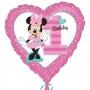 Globo de Minnie Mouse número 1