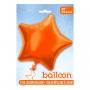 Globo Estrella Naranja 50 cm