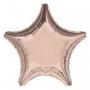 Globo Estrella Rosa Dorado 48 cm