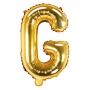 Globo Foil Letra G Dorado 35 cm