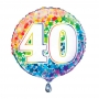 Globo Nº 40 Rainbow 45 cm