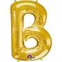 Globo letra B 40 cm Dorado
