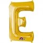 Globo Letra E 40 cm Dorado