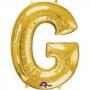 Globo Letra G Dorado 86 cm
