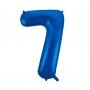Globo Nº 7 Azul 86 cm