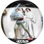 Globo forma de Balón Star Wars 40 cm