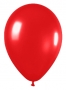 Pack de 10 globos de látex color rojo metalizado