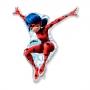 Globo Silueta Ladybug 83 cm