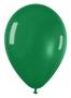 Pack de 10 globos verde cristal