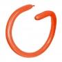 Globos alargados para globoflexia Naranja 260S