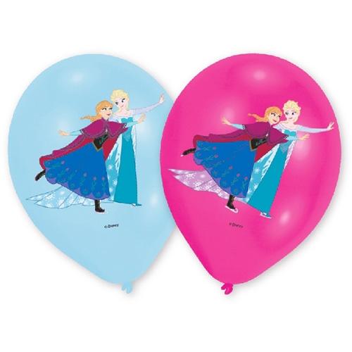 Globos Frozen Elsa y Anna 6 Unidades