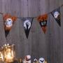 Guirnalda de papel cementerio Halloween