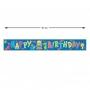 Guirnalda Happy Birthday Animales de la Selva 91 cm