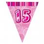 Guirnalda Nº 15 Rosa