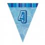 Guirnalda Nº 4 Azul Brillante