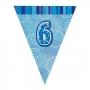 Guirnalda nº 6 Azul Brillante
