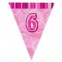 Guirnalda Nº 6 Rosa