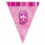 Guirnalda Nº 9 Rosa