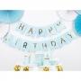 Guirnalda Happy Birthday azul de 15x175 cm