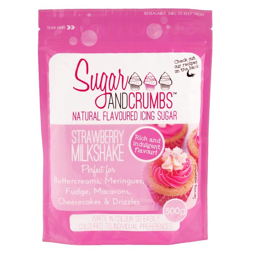 Icing Sugar sabor Batido de Fresa - My Karamelli