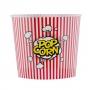 Cubo para Palomitas Pop Corn Rojo