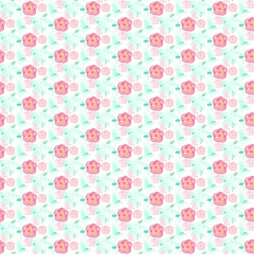 Impresión en Chocotransfer Flores Modelo E