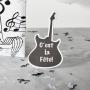 Indicador Mesa de Pizarra Guitarra Eléctrica