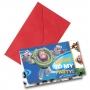 Invitaciones de Cumpleaños Toy Story Disney