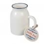 Jarrita de cerámica para leche