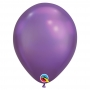 Juego  25 Globos Chrome Violeta