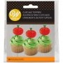 Juego 12 Toppers Calabaza