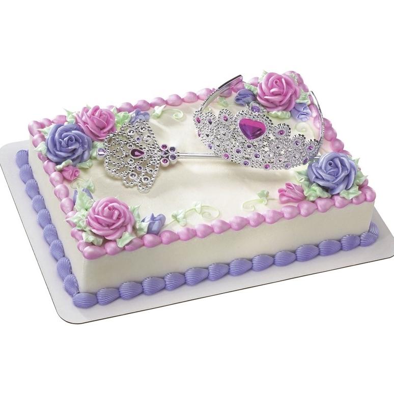 Set Decorativo Corona Princesa y Cetro