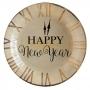 Juego de 10 Platos Happy New Year 22 cm