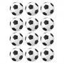 Juego de 12 Impresiones en Papel de Azúcar Balón de fútbol