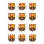 Juego de 12 Impresiones en Papel de Azúcar Barcelona Modelo A