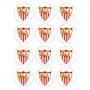 Juego de 12 Impresiones en Papel de Azúcar Sevilla