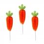 Juego de 12 Toppers Zanahoria