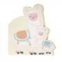 Juego de 16 servilletas de la colección Llama Love