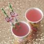 Juego de 20 Pajitas Flamingo Fun